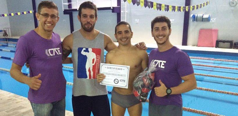 Confira os vencedores da Competição de Natação na CTE7