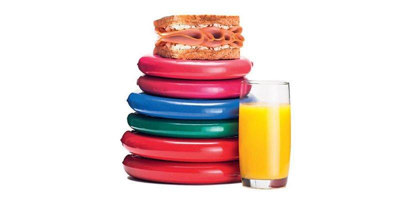 Vença o sedentarismo no café da manhã
