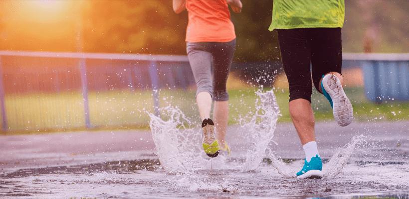 8 conselhos para correr em dias chuvosos
